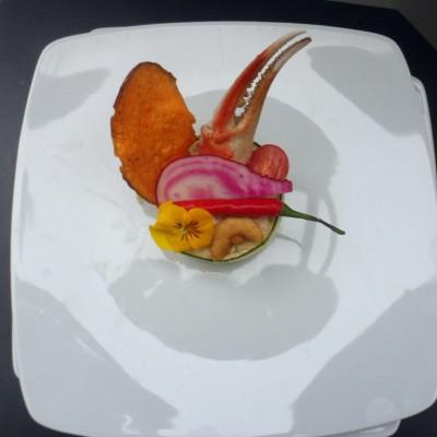 Bavarois de homard